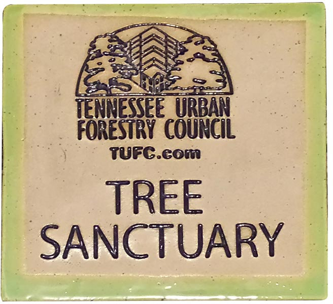 Tree Sanctuary Plaque